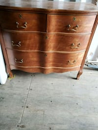Open to trades! OBO Antique dresser with mirror Englewood, 80113