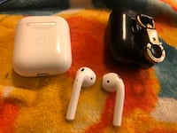 Apple Airpods Series 2 with black case Katy, 77449