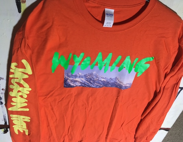 Orange Wyoming Shirt Kanye Merch