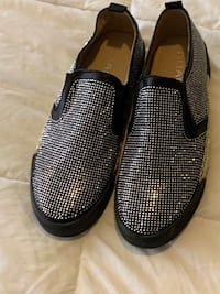 Slip on Sparkly Shoes