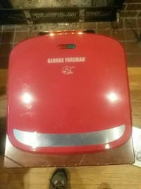 red George Foreman grilling machine 48 km