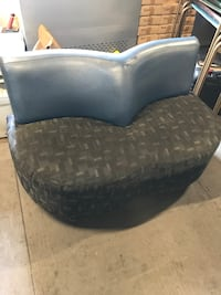 black and gray leather sofa chair Laval, H7V 1W9