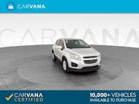 2015 Chevy *Chevrolet* *Trax* LS Sport Utility 4D hatchback Silver Fort Myers