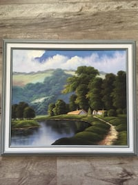 Framed oil painting Bowmanville, L1C 3W6
