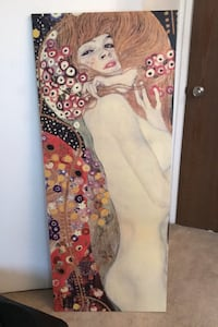 Replica of water serpents II by Gustav Klimt - print on canvas Vancouver, V6R 1W1