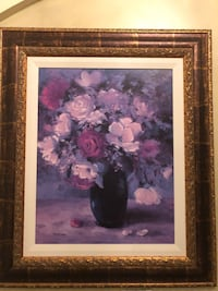 Classic Frame Floral Painting Vaughan, L4H 1K7