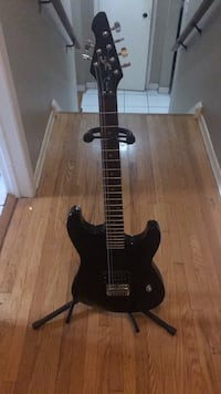 Black stratocaster-style electric guitar Mississauga, L4T 1Z4
