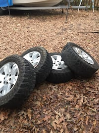 GMC/ chevy six lug rims and tires  Mandeville, 70448