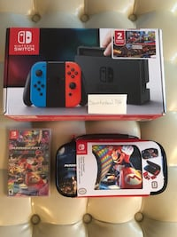 Nintendo Switch console with game cases Mc Lean, 22102