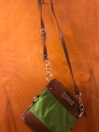 women's green and brown leather shoulder bag Bridgeton, 08302
