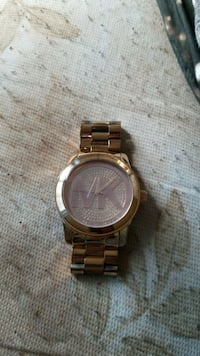Michael kors rose gold watch Takoma Park, 20912