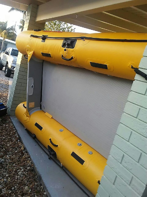 12 foot Saturn inflatable boat