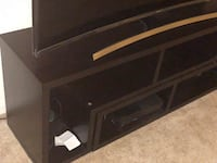 A TV stand cum bookshelf is for sale