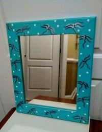 Reduced!! Hand Painted Dragonfly Framed Mirror  Wilmington, 28411