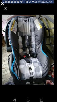 baby's gray and blue car seat carrier screenshot Willis, 77318
