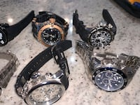 Invicta watches plus others Shirley, 01464