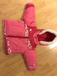 Carters Winter/Snow Jacket. Size-24 months. Excellent condition. No rips no tears no stains. Smoke free and pet free home .