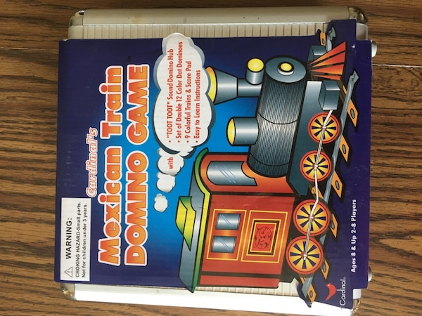 Used Mexican Train Domino Game Box For Sale In Terre Haute Letgo
