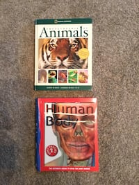 Science / Animal educational books/posters lot