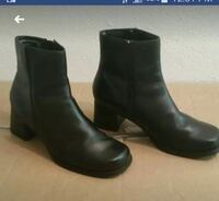 Black leather boots , 5.5 Houston, 77084
