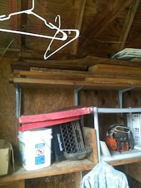 Free wood for removal of barnwood is in excellent condition