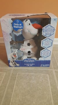 Disney Dance & sing Disney Frozen kids sound touch activated Olaf toy. Brand new  Shelby Township, 48315