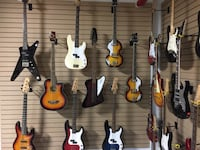 We have a nice selection of Bass guitars