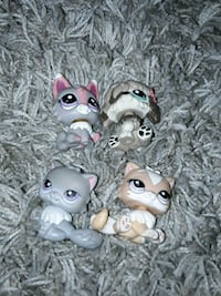 quatre bobbleheads de chat de My Littlest Pet Shop Chevilly-Larue, 94550