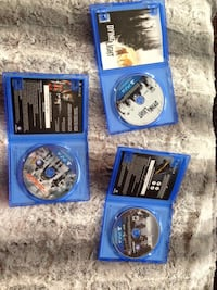 Ps4 Games Mint Condition 40$ OBO, No problems with games St Albert, T8N