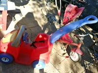 toddler's red and blue trike Weslaco, 78596