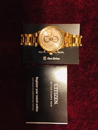 Luxury Gold Citizens Watch Authentic Los Angeles, 90026