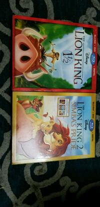 two assorted DVD movie cases Lorton, 22079