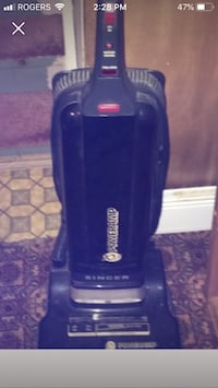 black and gray Bissell upright vacuum cleaner Brampton, L6S 4B1