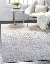 New modern gray carpet size 5x8 nice style rug  Burke, 22015