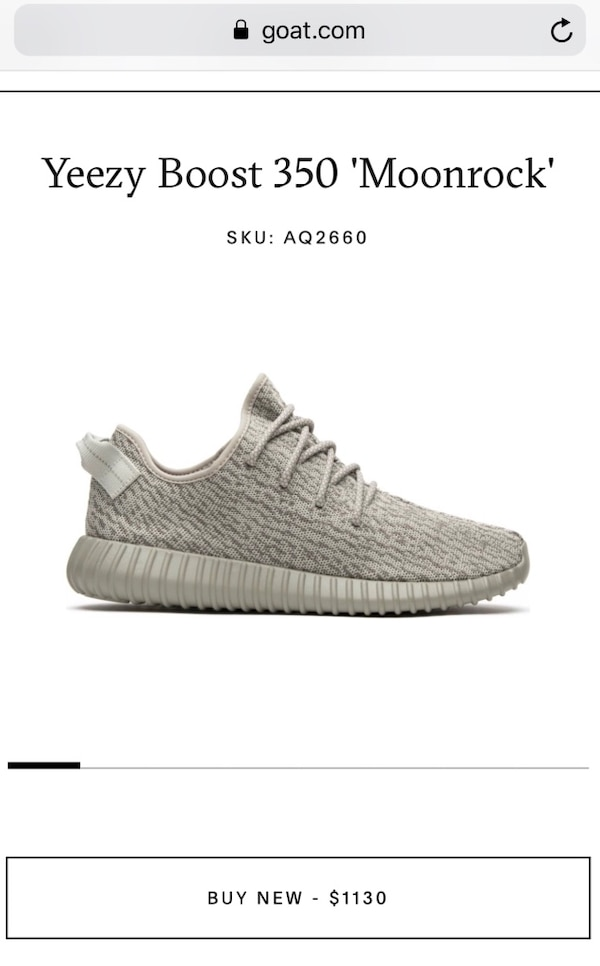 f39b908cf7979 Used unpaired gray Adidas Yeezy Boost 350 V2 for sale in Indialantic ...
