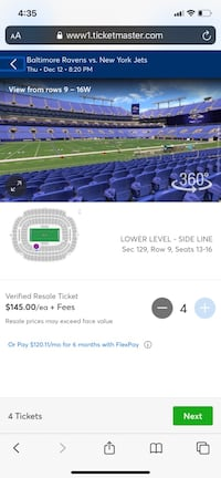 *BUY NOW* RAVENS VS JETS