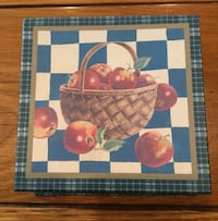 Apple Coasters with Storage Box - Set of 4 San Leandro, 94577