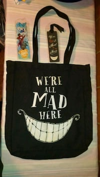 We're All Mad Here Tote *New* & 2 New Bookmarks Manassas Park, 20111