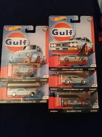 four assorted die cast car toys Albuquerque, 87106