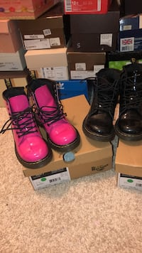 3 pair of Kids Dr. Marten boots all 3 for $90 Hanover, 21076