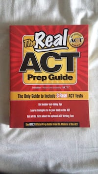 Real ACT Prep Guide Book East Providence, 02915
