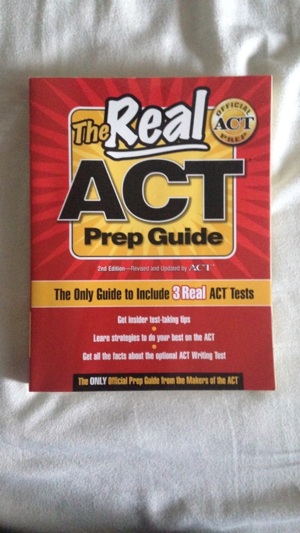 Real ACT Prep Guide Book