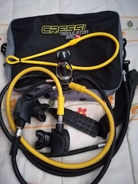 Regulador buceo cressi