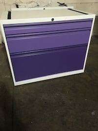 purple and white wooden cabinet Daly City, 94014