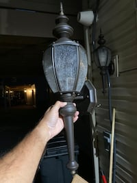 Outdoor Lamp Wall Post Baltimore, 21220