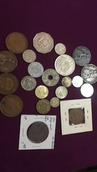Antique and vintage foreign coins Calgary, T2Y