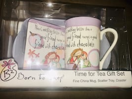 New :time for tea gift set /Firm price