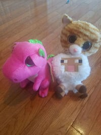 Ty beanie babies and minecraft sheep Boyds, 20841