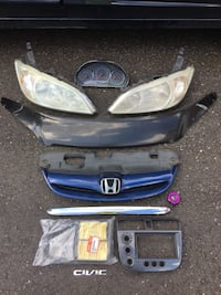 2001-2005 Honda Civic left over  parts  Markham, L3S 1K5