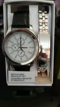 Watch and bracelet Set, Stanley stell Montréal, H1S 1M2